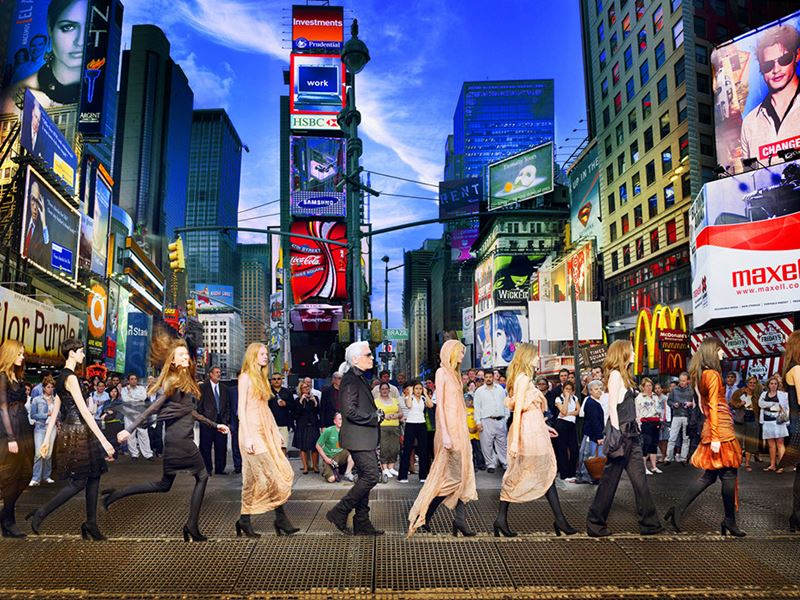 Фотовыставка  Саймона Проктера Lagerfeld, the Chanel Shows