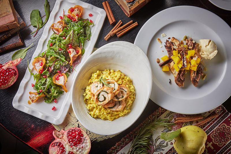 Московский Гастрономический Фестиваль в ресторане армянской кухни Gayane's