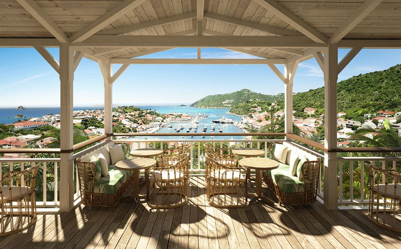 Hôtel Barrière Le Carl Gustaf St-Barth на острове Сен-Бартелеми в Карибском море - фото 2