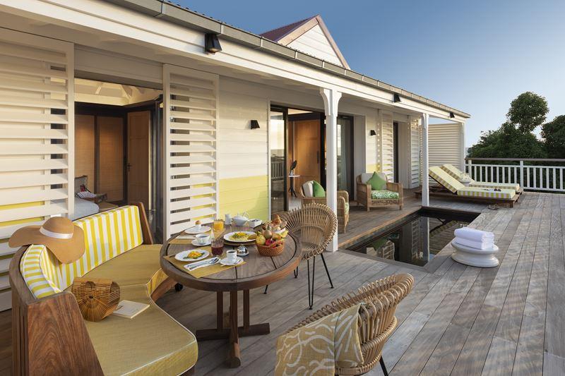 Hôtel Barrière Le Carl Gustaf St-Barth на острове Сен-Бартелеми в Карибском море - фото 4