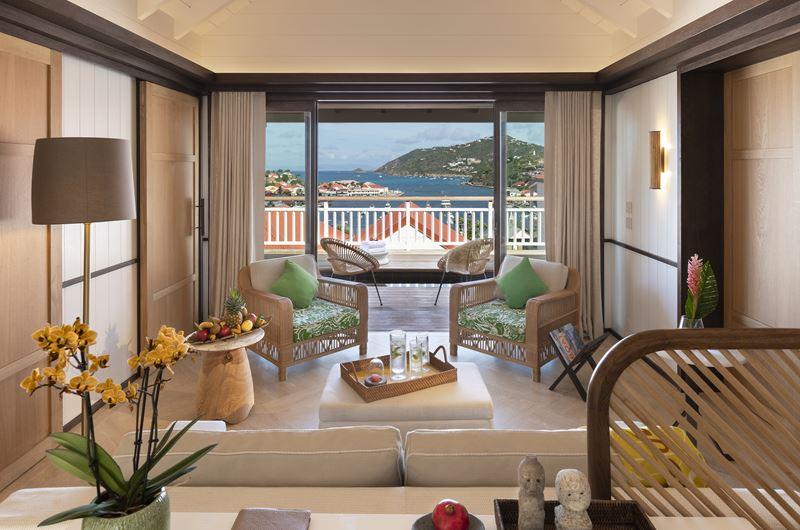 Hôtel Barrière Le Carl Gustaf St-Barth на острове Сен-Бартелеми в Карибском море - фото 3