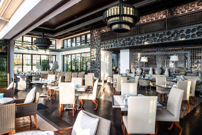 Ресторан Rockfish в отеле Burj Al Arab Jumeirah
