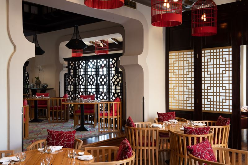 Ресторан Zheng He's в отеле Jumeirah Mina A'Salam