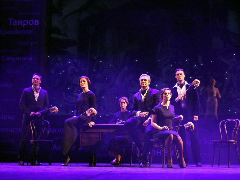 Театр им. Пушкина приглашает на юбилейный спектакль-концерт (25 декабря 2019)
