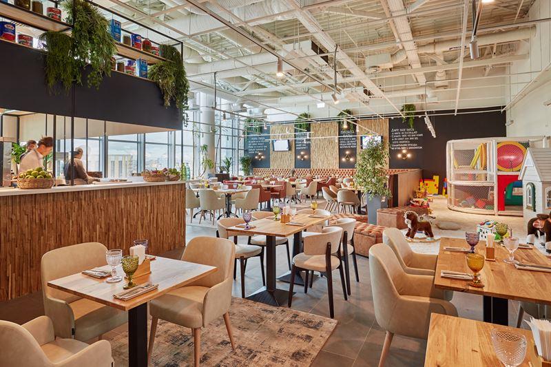 Новое место в Москве: семейный ресторан FoodMama в ТРЦ «Авиапарк» - фото 4