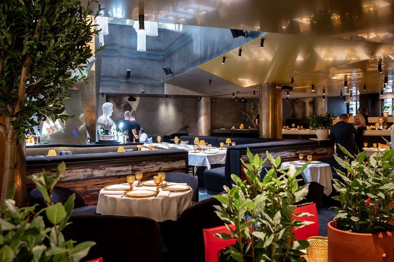 Новое место в Москве: ресторан греческой кухни «Пифагор» - фото 3