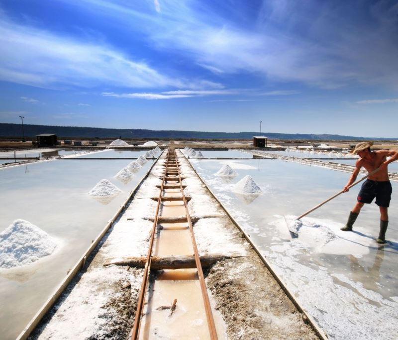 Необычные экскурсии в Словении - как добывают натуральную соль