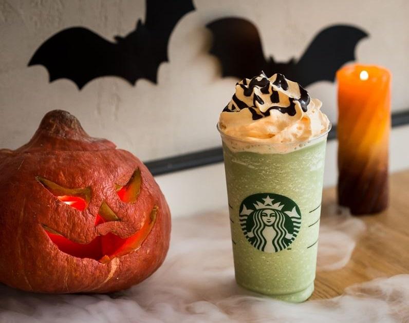 Вкусный Хэллоуин: Зачарованная Тыква Фраппуччино во всех кофейнях Starbucks
