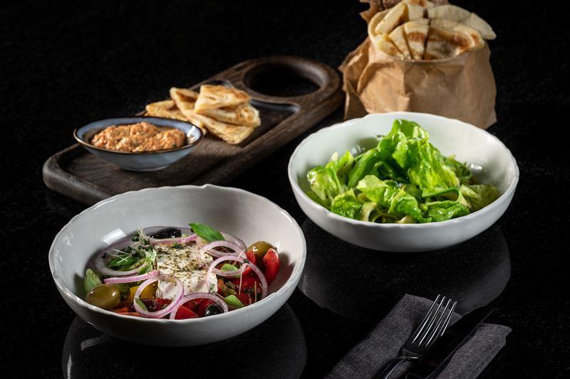 «Большой греческий ланч» в ресторане «Пифагор» - фото 1