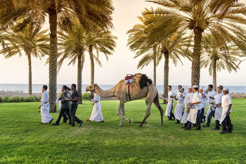 Caravan of Taste: гастрономический тур по блюдам Аравии, Индии и Японии в отеле The Chedi Muscat