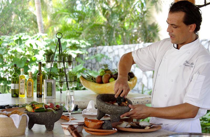 Ресторан мексиканской кухни El Restaurante отеля Las Ventanas al Paraiso