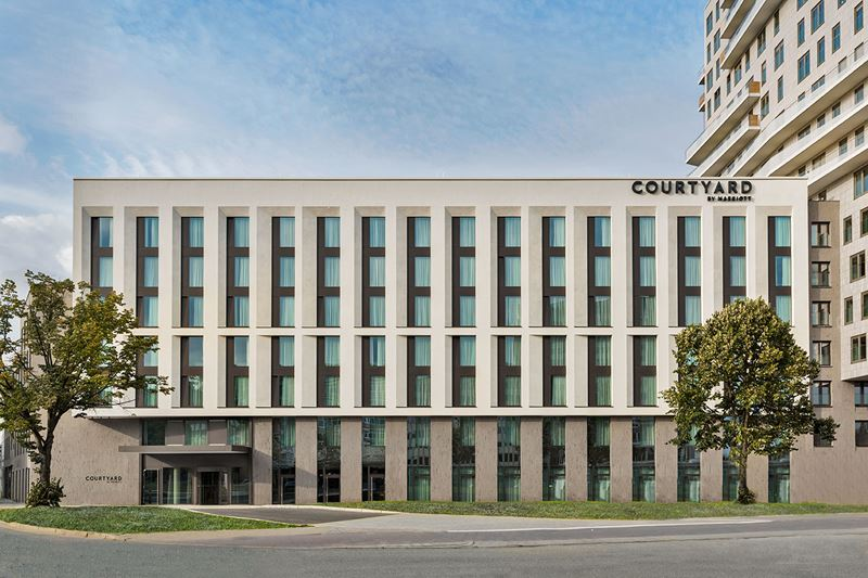 Новый отель в Гамбурге: Courtyard by Marriott Hamburg City - фото 1