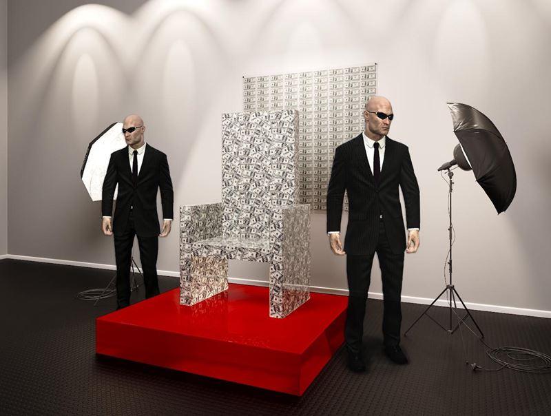 Искусство и деньги: «Денежный трон» в «Музее эмоций» Москвы