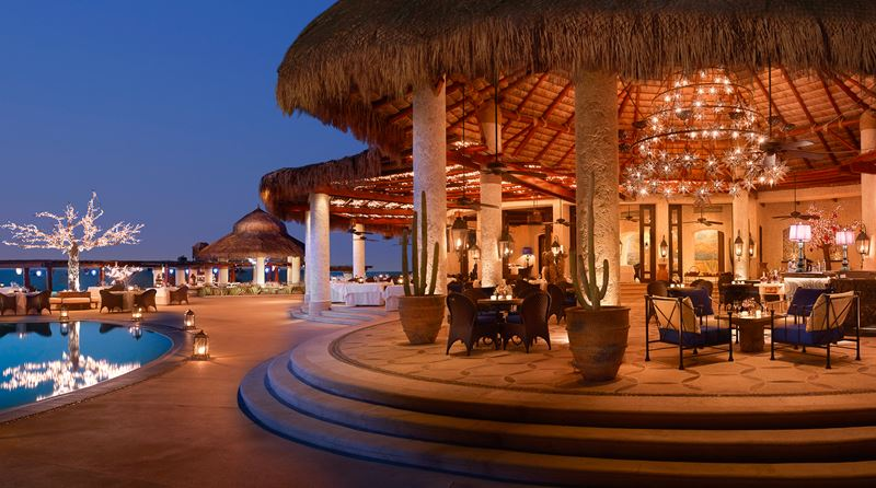 Ресторан мексиканской кухни El Restaurante в отеле Las Ventanas al Paraiso