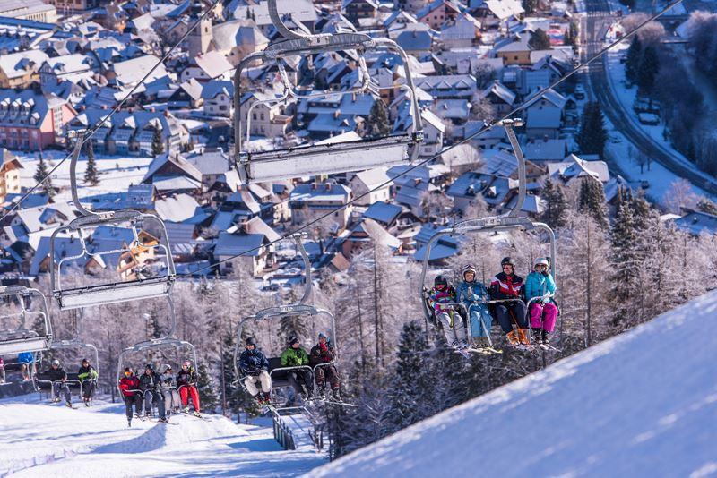 Зимний отдых в Словении -