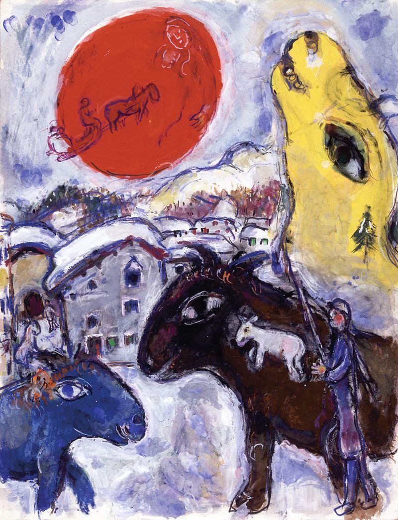Выставка Марка Шагала в музее «Новый Иерусалим» - фото 2