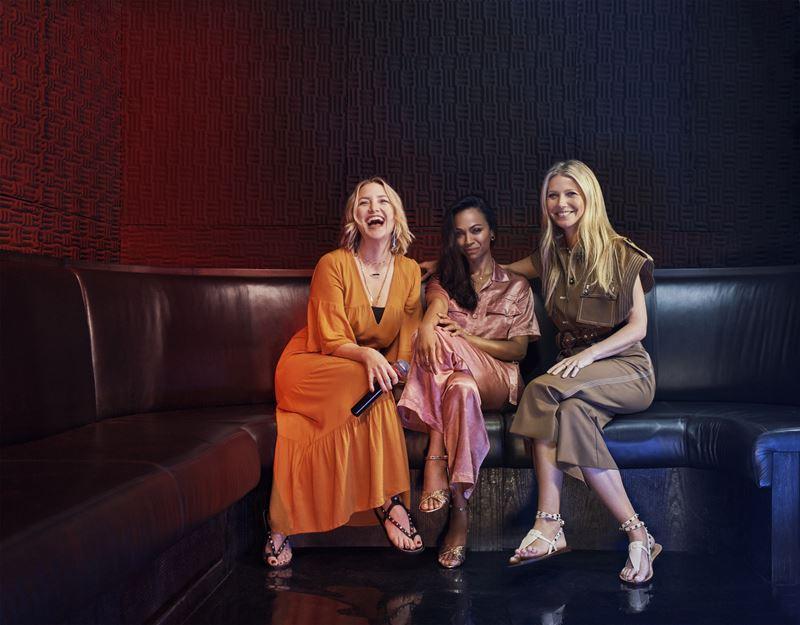 Гвинет Пэлтроу, Кейт Хадсон и Зои Салдана стали звездами фильма о Дубае «Полёт истории»
