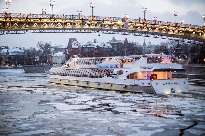 Речные прогулки по столице: на Москве-реке открылась зимняя пассажирская навигация 2019-2020 - фото 2