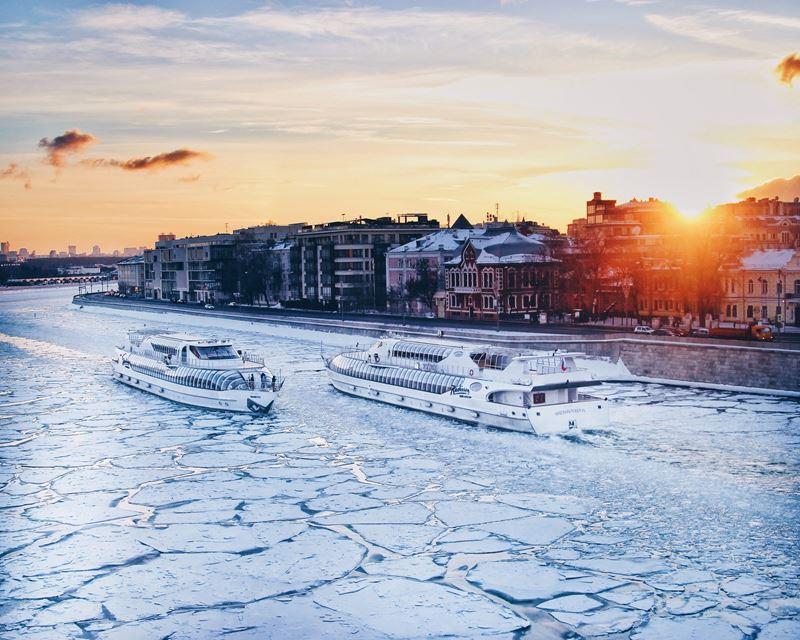 Речные прогулки по столице: на Москве-реке открылась зимняя пассажирская навигация 2019-2020 - фото 3