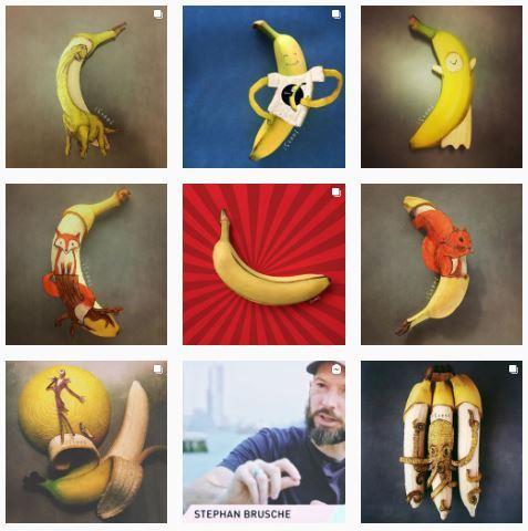 Банановое искусство: топ-9 арт-объектов - Банановое настроение