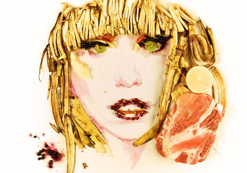 Банановое искусство: топ-9 арт-объектов - Съедобная Леди Гага