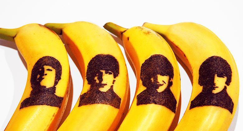 Банановое искусство: топ-9 арт-объектов - Банановый холст