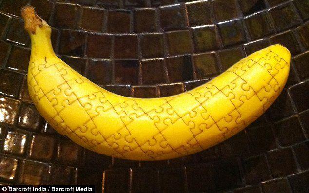 Банановое искусство: топ-9 арт-объектов - Банановое татуирование