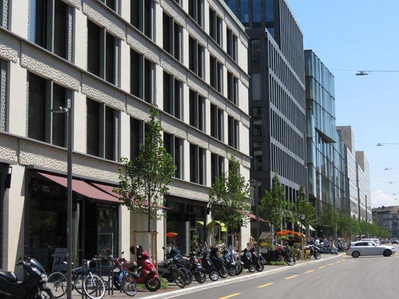 Современная архитектура Цюриха: топ-10 необычных городских объектов - Europaallee