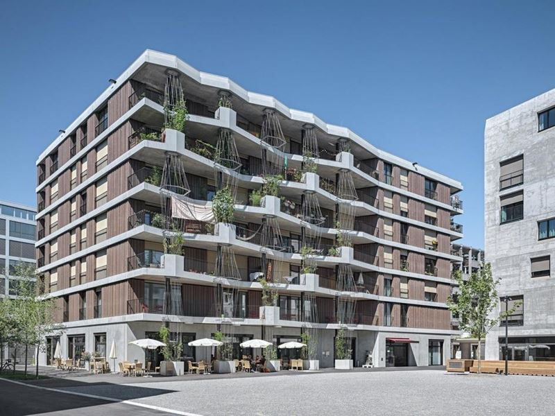 Современная архитектура Цюриха: топ-10 необычных городских объектов - Hunziker Areal