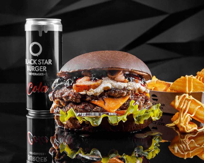 Где поесть мяса в фудмолле «Депо.Москва» - Black Star Burger (корнер #36)
