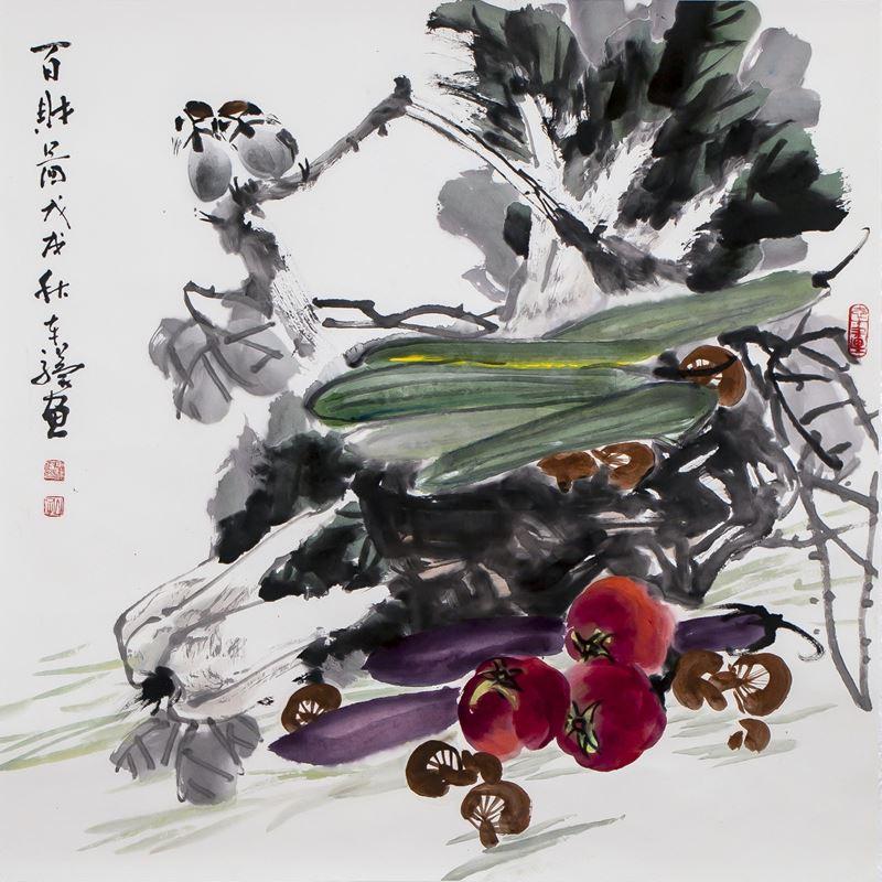 «Поднебесная в центре»: выставка китайской живописи - фото 2