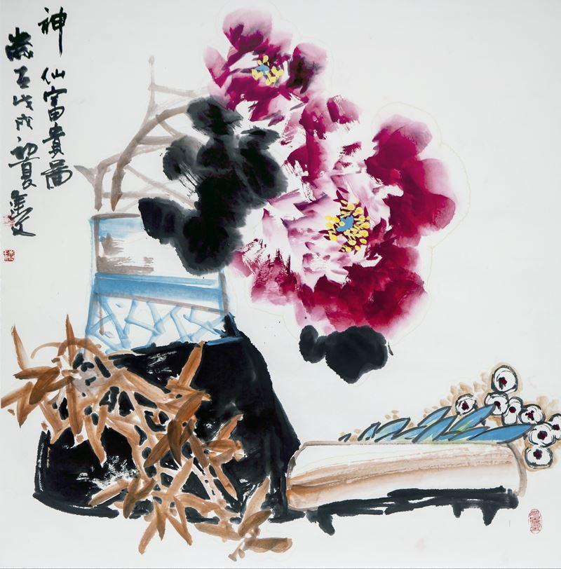 «Поднебесная в центре»: выставка китайской живописи - фото 1