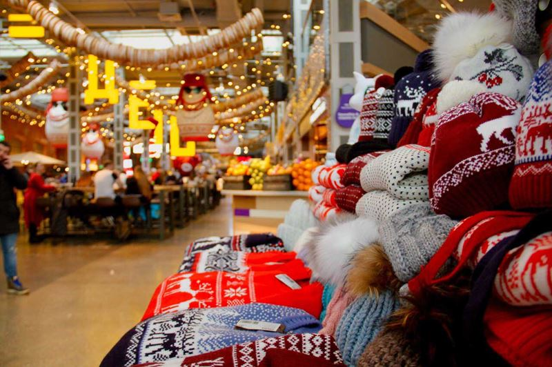 Новый Год и Рождество в фудмолле «Депо.Москва»