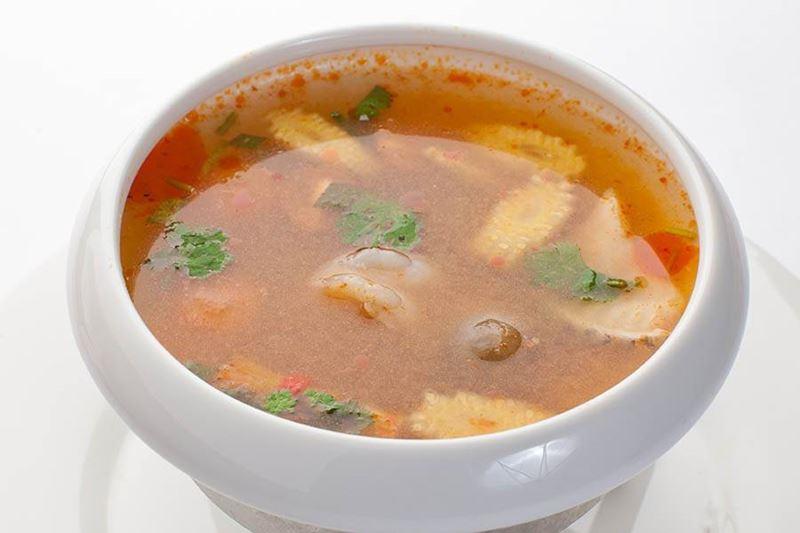 Рецепты похмельных блюд - Том-ям с креветками от шеф-повара ресторана «Турандот»