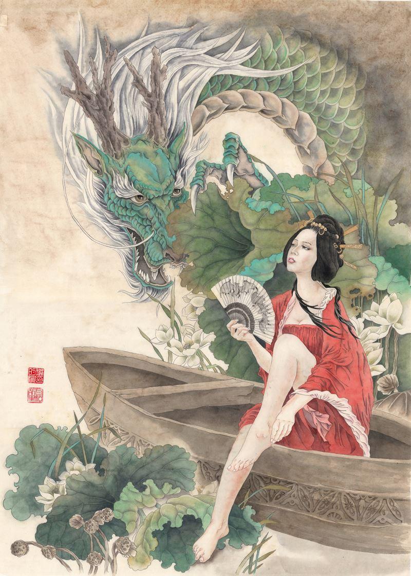 «Поднебесная в центре»: выставка китайской живописи - фото 4