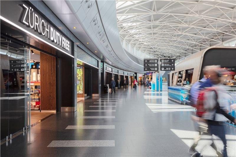 Аэропорт Цюриха - фото 2