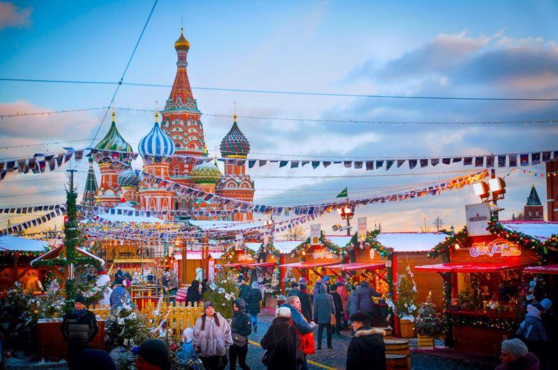 Туристы из Германии, Китая, Италии и Франции чаще всего останавливаются в отелях столицы на Новый год