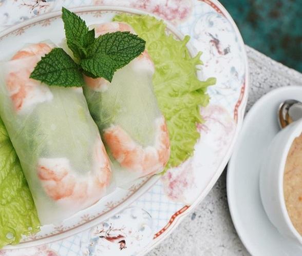 Рецепты новогодних закусок от шеф-поваров ресторанов - Вьетнамские спринг-оллы