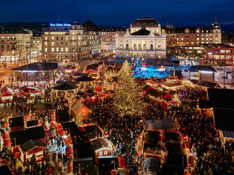 Чем заняться в Цюрихе во время зимних праздников - фото 1