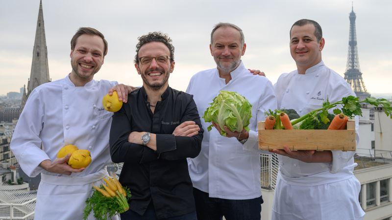 Рестораны Four Seasons Hotel George V Paris вновь награждены пятью звёздами гида Michelin