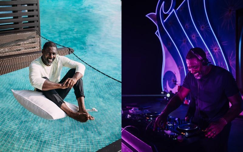 Британский актёр Идрис Эльба стал звездой новогодней вечеринки курорта One&Only Reethi Rah на Мальдивах