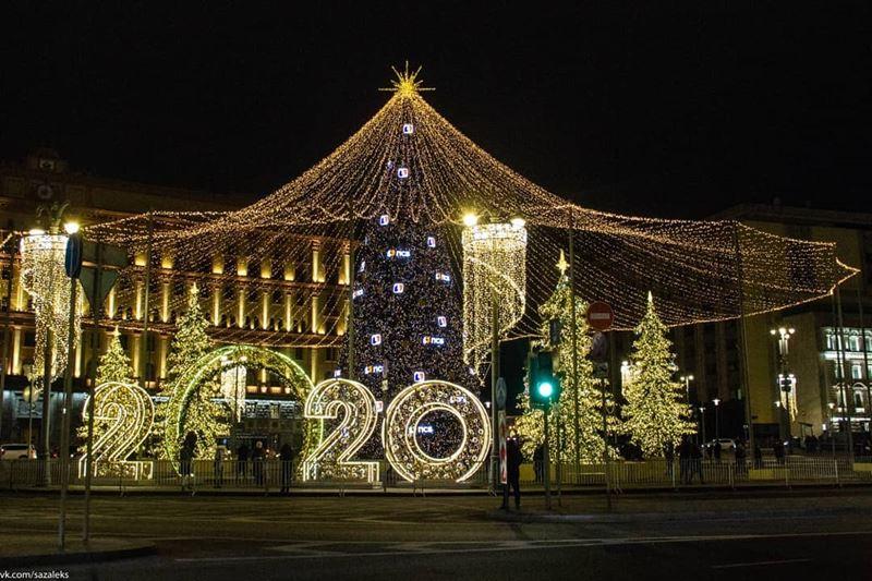 #Москва: более 800 тысяч раз упомянули столицу пользователи социальных сетей в новогодние праздники