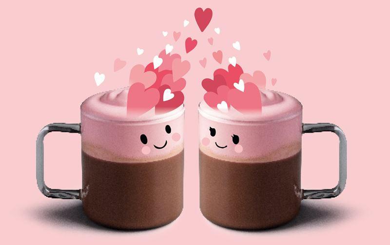 Ягодный Горячий Шоколад Starbucks ко Дню Святого Валентина 2020