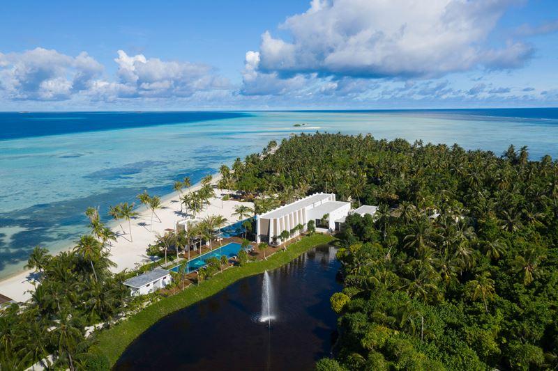открытие эксклюзивных вилл Aqua Villa в Pullman Maldives Maamutaa Resort