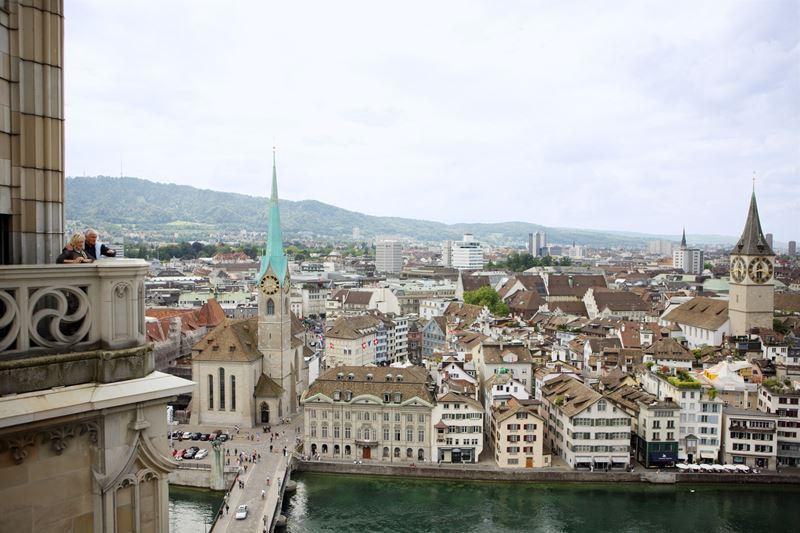 Как на ладони: 6 лучших видов на Цюрих - Башня Карлстурм