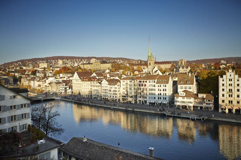 Как на ладони: 6 лучших видов на Цюрих - Парк Линденхоф