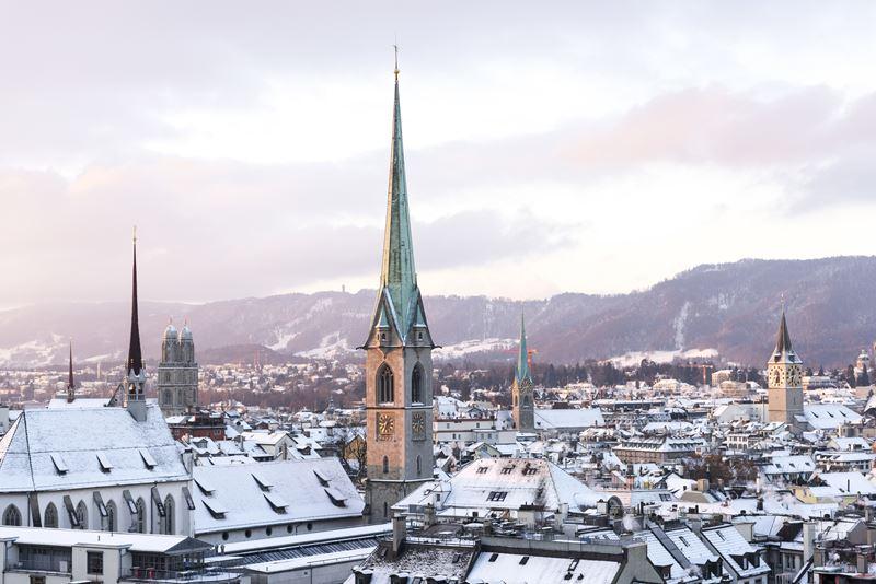 Как на ладони: 6 лучших видов на Цюрих - Политерраса