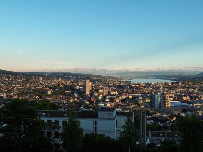 Как на ладони: 6 лучших видов на Цюрих - Смотровая площадка Вайд