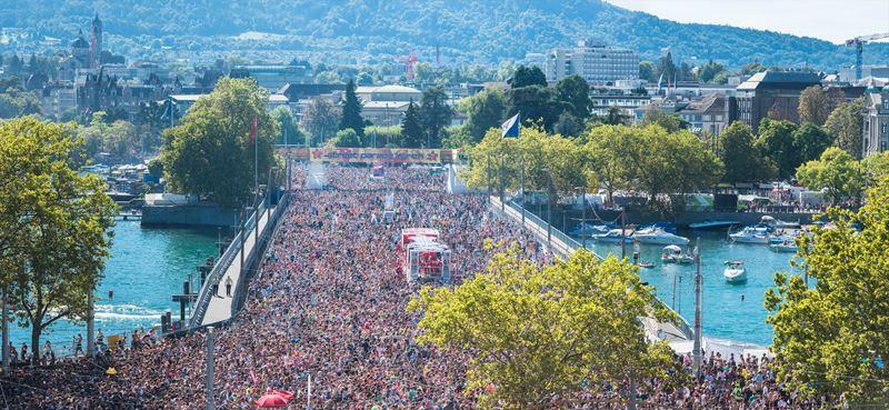 Фестивали в Цюрихе (Швейцария) весна-лето 2020 - Street Parade