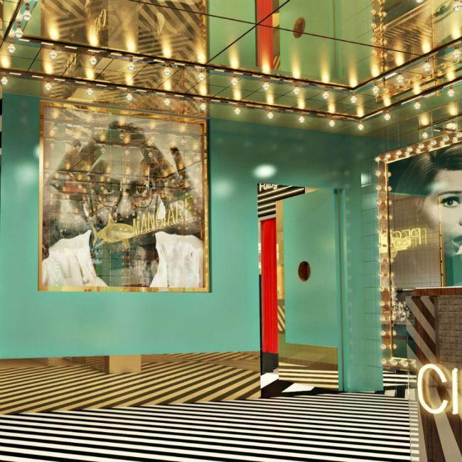 Виртуальное путешествие в Дубай - Ресторан Torno Subito